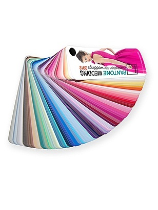 Pantone Wedding Color Fan Guide: I think I'm going to order this.