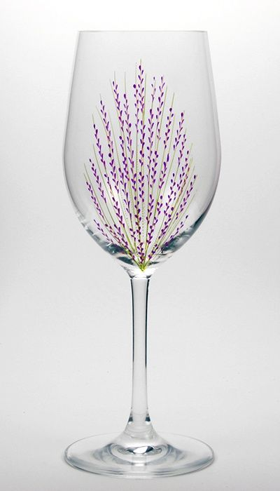 25 best glass painting patterns trending ideas on for Hand designed wine glasses