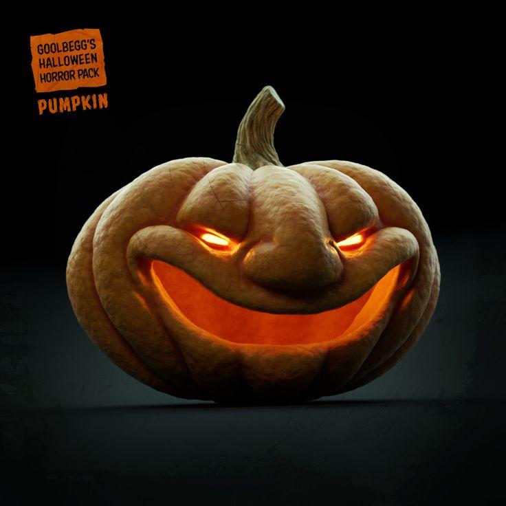 ArtStation - Halloween Horror pack - Pumpkin, Martin Guldbaek