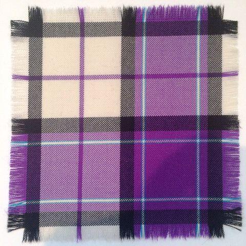 Purple Longniddry - 100% Wool Tartan Fabric – Highland In Style