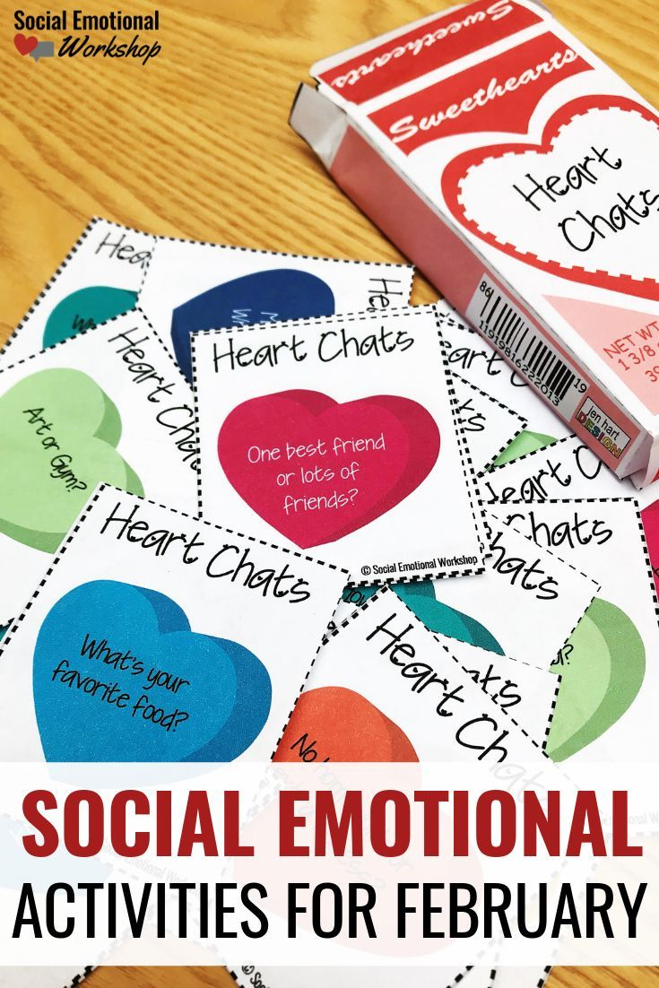 Social Emotional Activities For Elementary School That Fit Perfectly For Februa Social Emotional Learning Activities Social Emotional Learning Social Emotional