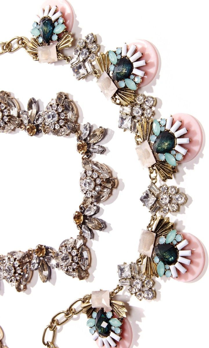 art deco-inspired necklace