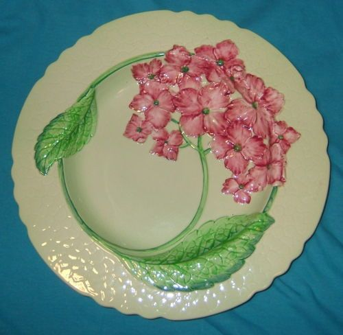 CARLTON WARE: a large shallow dish, 'HYDRANGEA' design!  STUNNING! NR! in Pottery, Porcelain & Glass, Porcelain/ China, Carlton Ware | eBay
