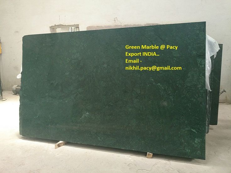 Indian Green Marble . For Export . with us Pacy Export India ..