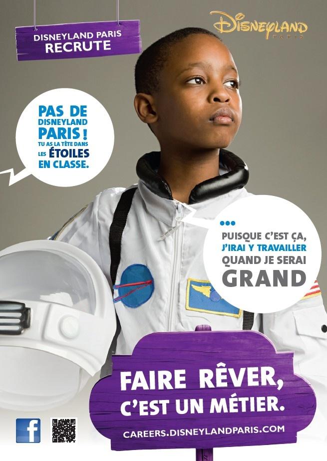 Disneyland Paris recrute en contrat pro : http://careers.disneylandparis.com #emploi #recrutement #apprentissage