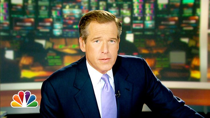 NBC Nightly News anchor Brian Williams raps Dr Dre's song Nuthin' but a 'G' Thang.