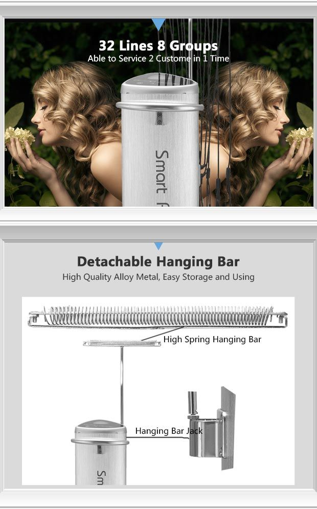 TF24 high performance hair curling machine, 24V Output, 32 lines
