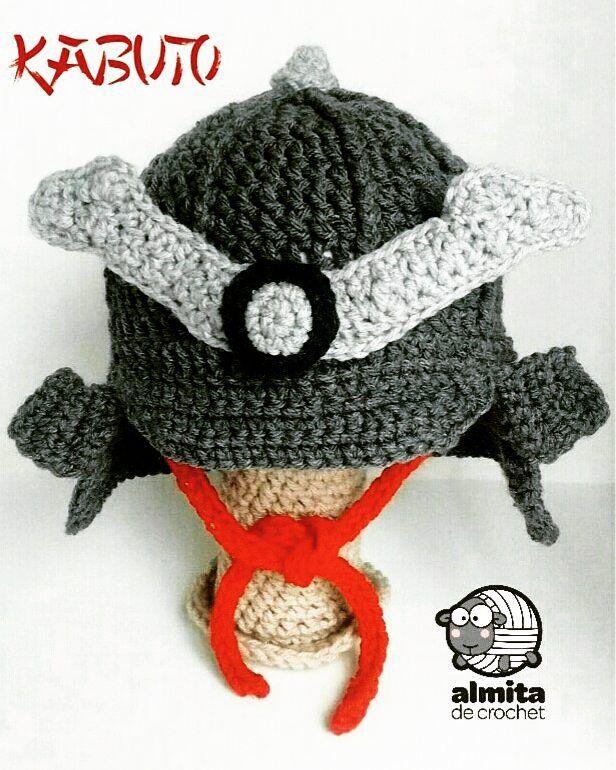 Kabuto hat crochet