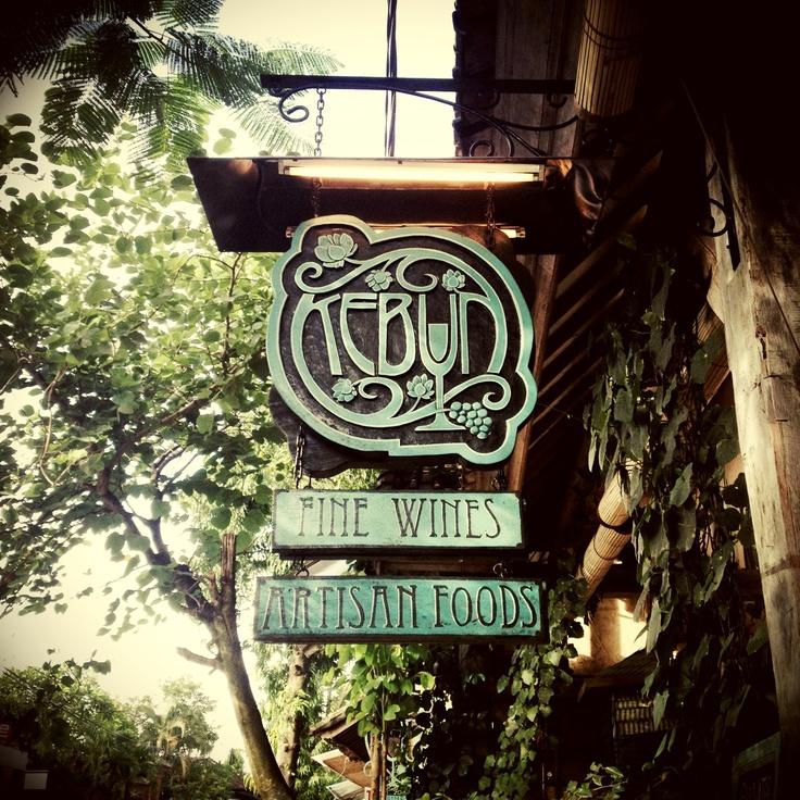 Kebun Bistro in Ubud Bali...I love this place!