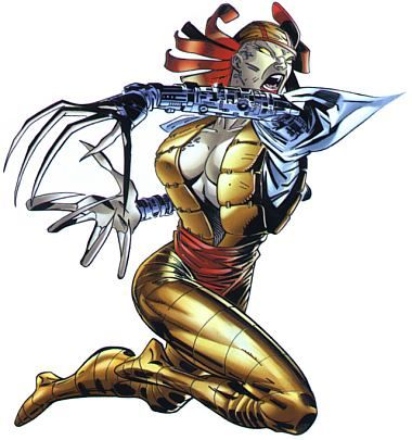 Lady Deathstrike by Whilce Portacio.