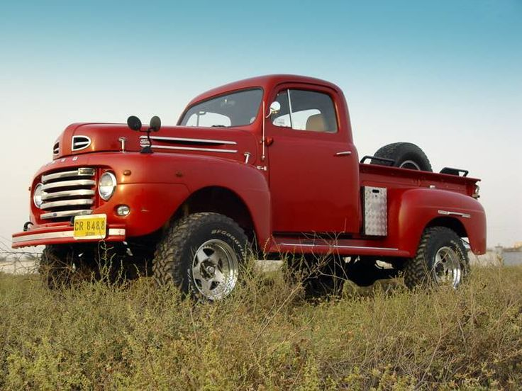 old ford pickup trucks 4x4 |
