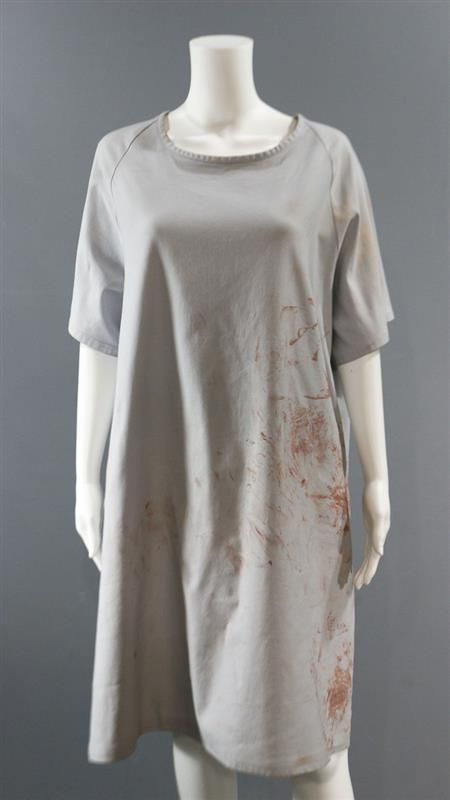 This isHelena's (Tatiana Maslany) Screen Worn Wardrobe Item. Orphan Black. Episode 509 & 510. Item: Gown. Color: Grey. The components of this wardrobe set have been previously worn during production. | eBay!