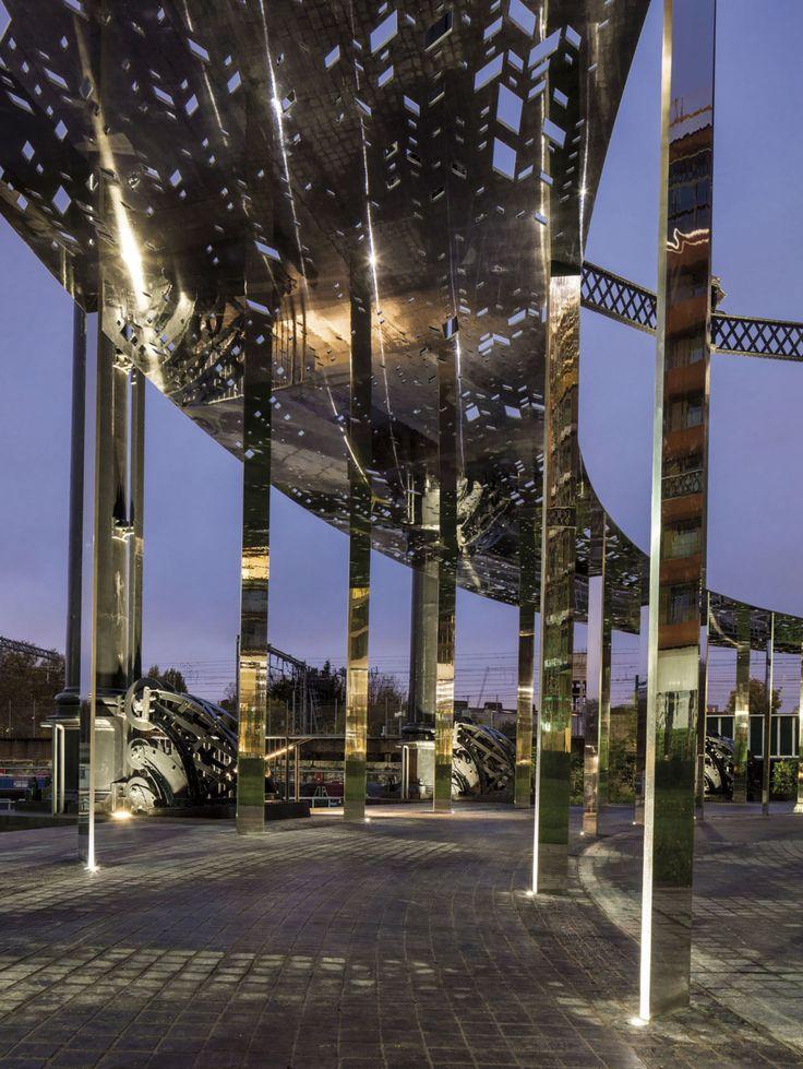 Bell Phillips Architects · Gasholder Park · Divisare