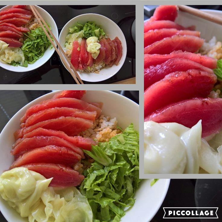 Tuna food home made