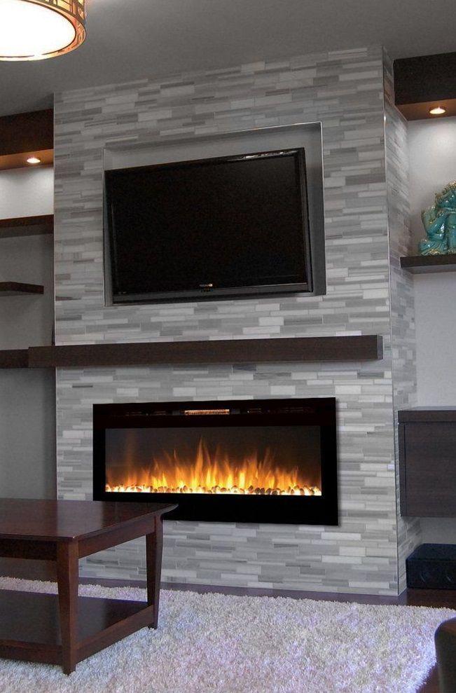 Cheminee Electrique Moderne Et Elegante Modern Electric Fireplace Electric Fireplace Fireplace