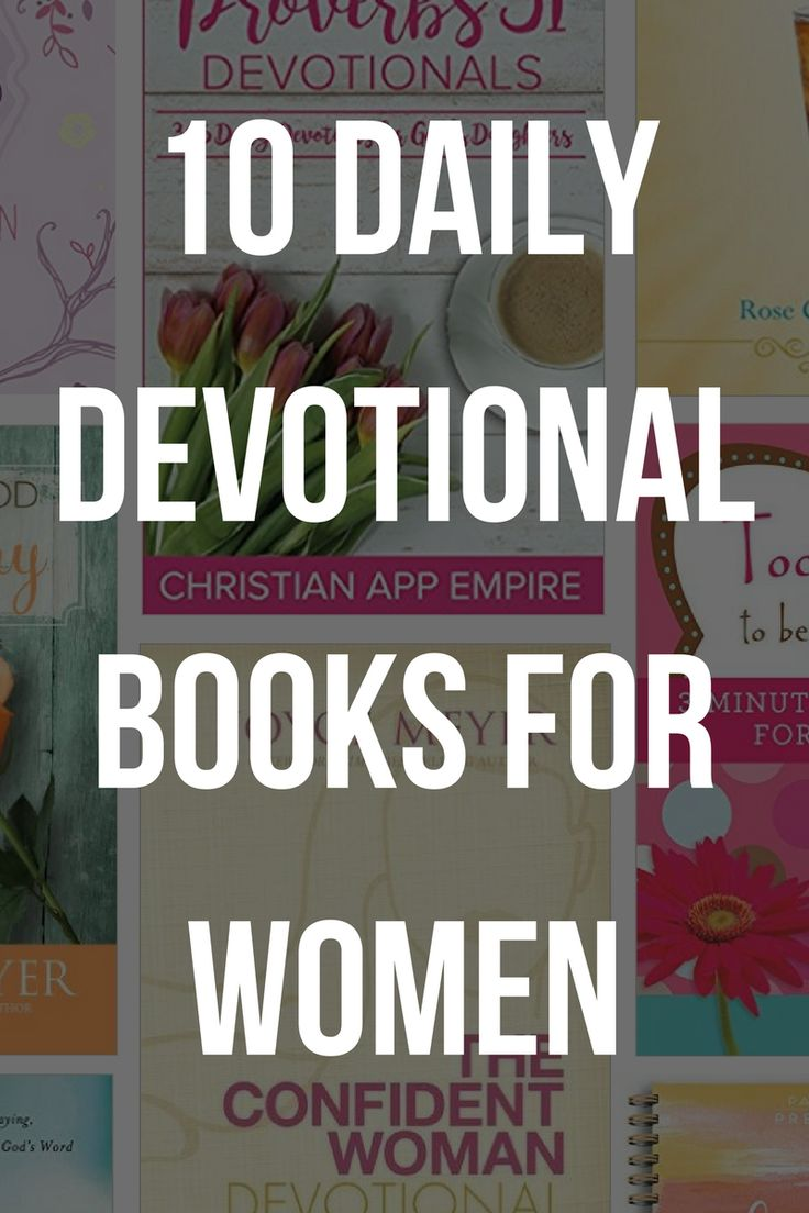 10 Daily Devotional Books For Women