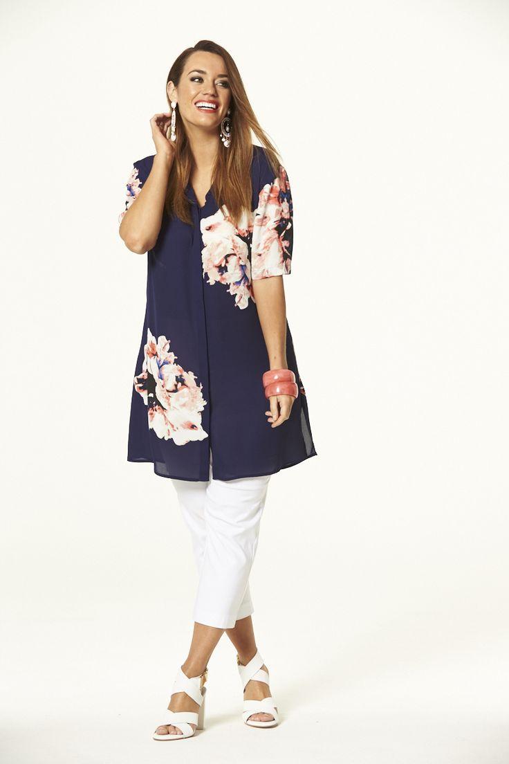 Orientique Tunic  #mysize #plussize #fashion #plussizefashion #spring #newarrivals #outfit
