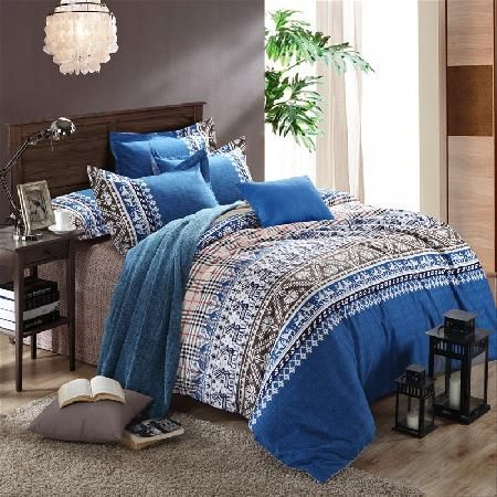 25 best images about Blue and White Striped Bedding on ...