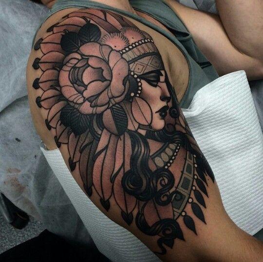 Headdress tattoo image by Patricia Mcintire on Tattoos ...
