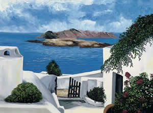 Kris Kirk - Mouth and Foot painting artists
