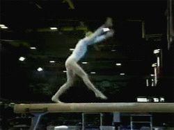 Svetlana Khorkina Doing A G Rated Acro Beam Skill (GIF) « WOGymnastika