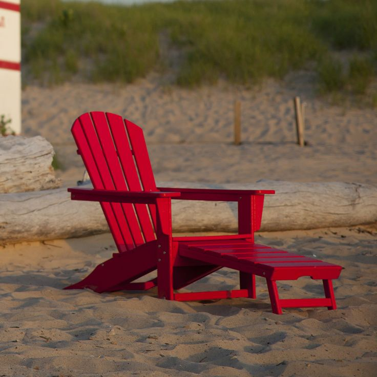 Attractive Our South Beach Ultimate Adirondack Chair Has An Easy Pull Out Ottoman And  Can Be Hidden