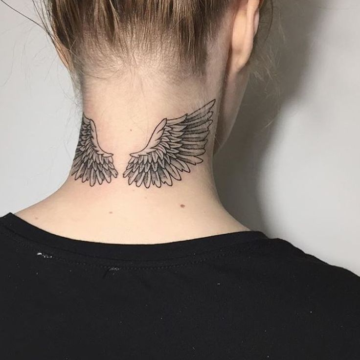 Pin de Ana em Tattoos   Tatuagem no pescoço, Tatuagem asas, Tatuagem casal