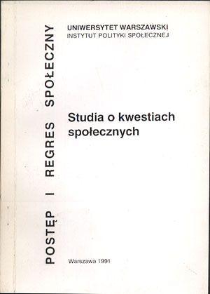 Studia o kwestiach społecznych, Barbara Rysz-Kowalczyk (opr.), IPS UW, 1991, http://www.antykwariat.nepo.pl/studia-o-kwestiach-spolecznych-barbara-ryszkowalczyk-opr-p-14405.html