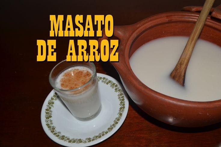 MASATO DE ARROZ