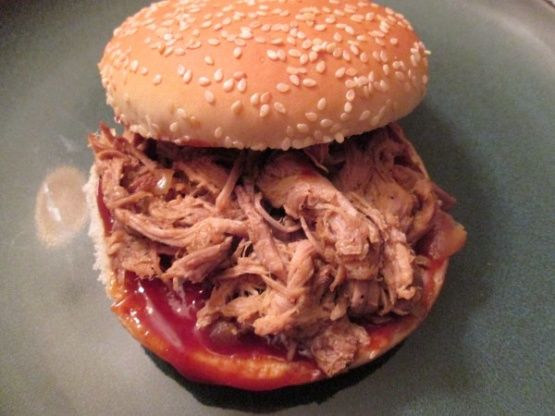 In the search for the best pulled pork recipe there were several that I found that were appealing.  I combined a couple recipes and added my own flare to make this delicious dish.  The recipe is easy enough to include my kids.  My 3 year old really enjoyed asking the butcher for some pork butt, while my 4 year old enjoyed applying the rub.