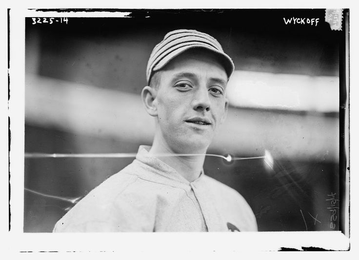 February 19, 1892 in Williamsport, Pennsylvania – May 8, 1961:Weldon Wyckoff:       Philadelphia Athletics (1913–1916)     Boston Red Sox (1916–1918)// His most productive season was in 1914, when he recorded career-highs with 11 wins and a 3.02 ERA. Wyckoff pitched in Game One of the World Series, surrendering a run on three hits and hitting a double in his lone career World Series plate appearance.In 1916, he led the league with 22 losses, 165 walks and 14 wild pitches.
