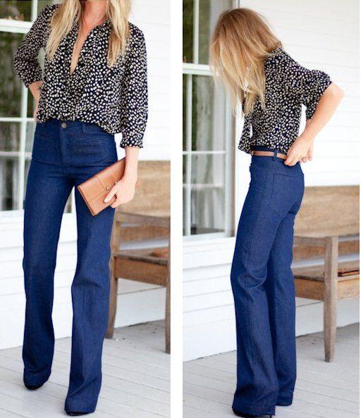 Art of wore - seattle fashion blog - WANT: High-waist, wide-legjeans