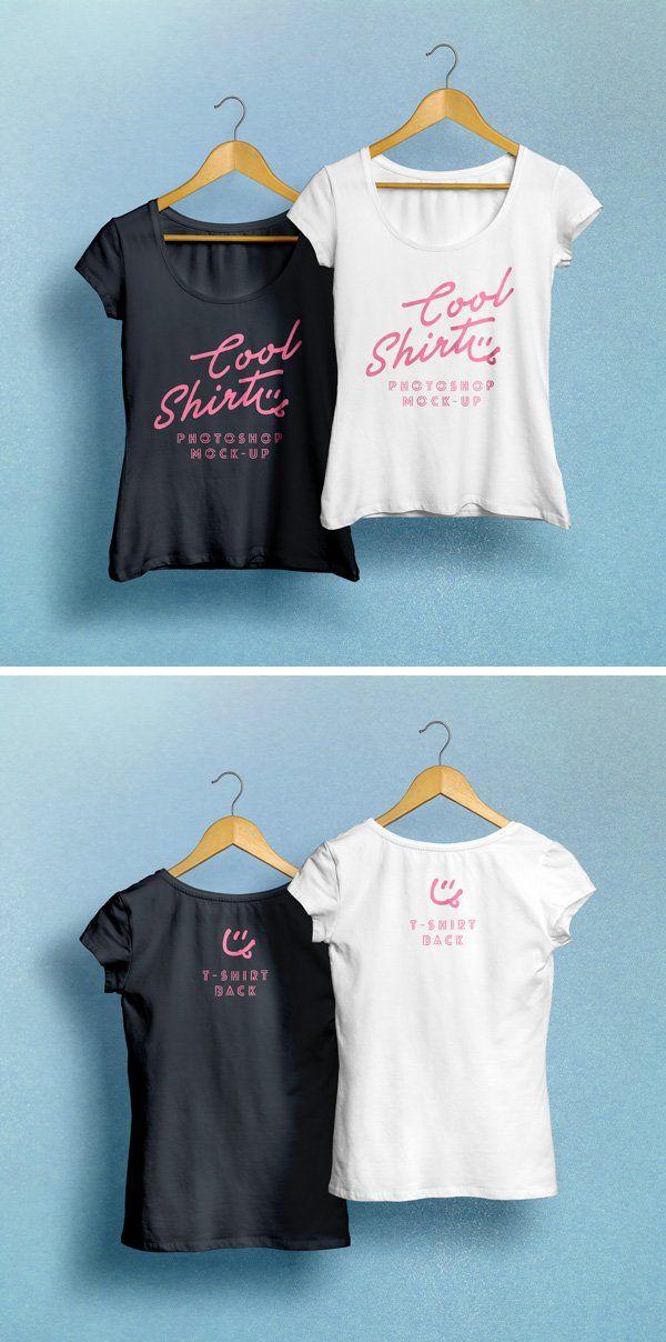 Download Free Woman T Shirt Mockup Psd Hanging Creativebooster T Shirts For Women Shirt Mockup Womens Shirts