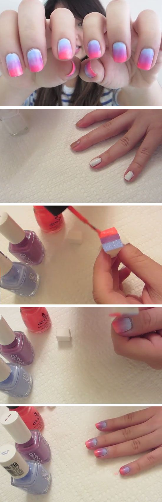 Quick & Easy Ombre Nails