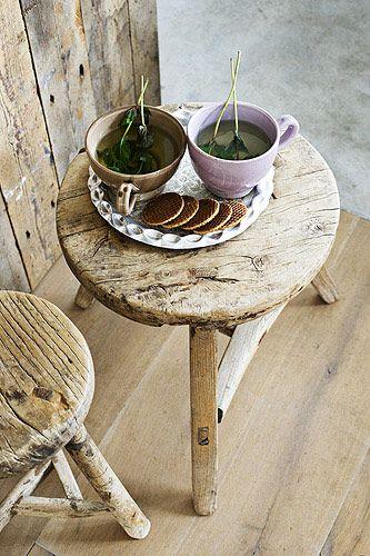 tea - love the idea of steeping actual herbs
