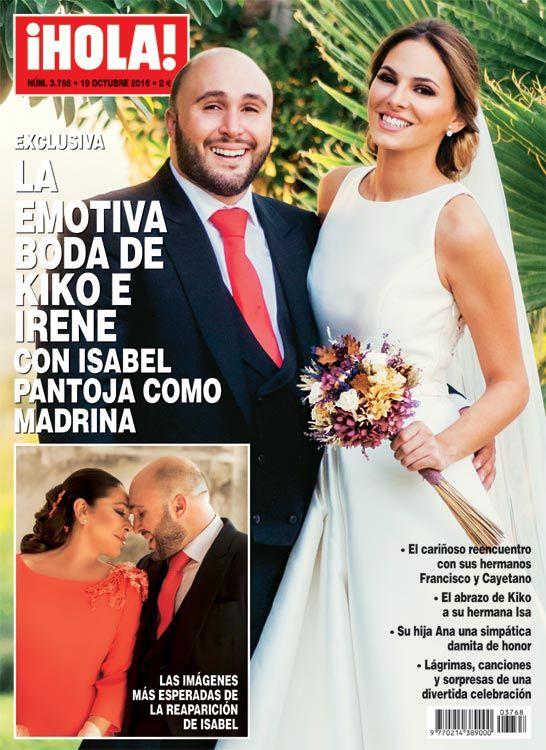 ¡HOLA! adelanta su edición, EXCLUSIVA: La emotiva boda de Kiko Rivera e Irene Rosales con Isabel Pantoja como madrina