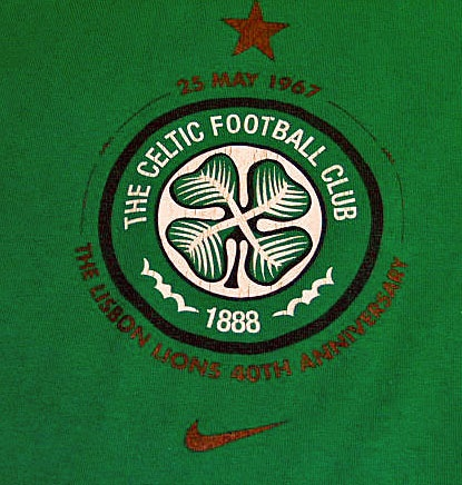 Have one to sell? Sell it yourself  The Celtic Football Club 1888 NIKE Celtic Soccer T-Shirt Green Size Large