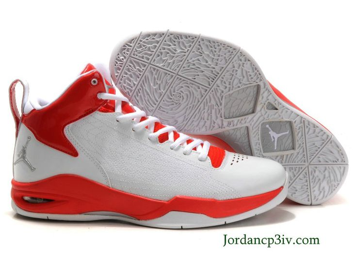 Jordan Fly 23 White Red White Basketball Shoes $65.89