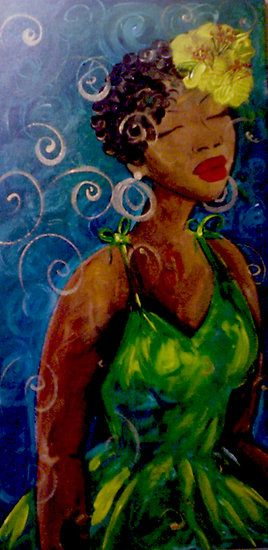 """Mahalia"" by Felicia Hunt http://www.redbubble.com/people/feliciahunt/works/2492460-mahalia?ref=work_main_nav"