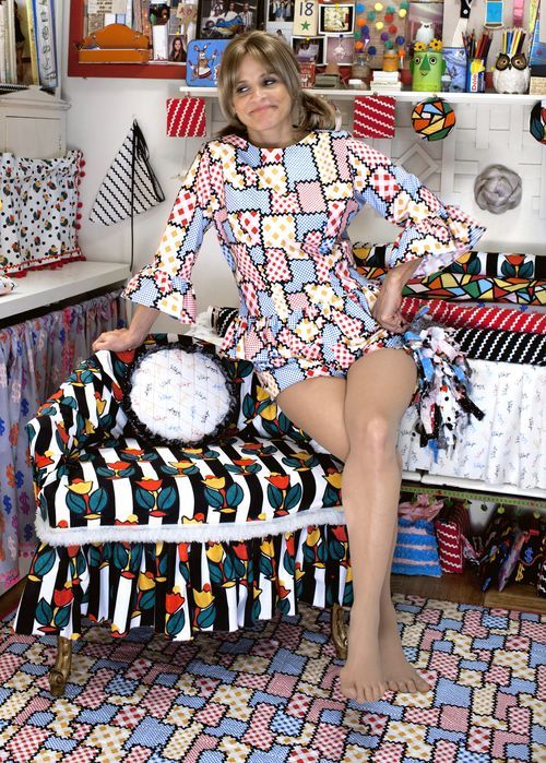 OMG! Amy Sedaris designs fabric collection