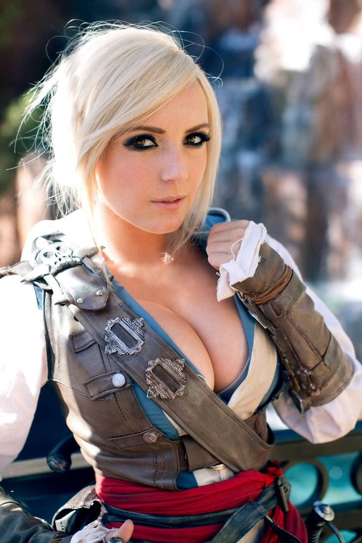 Assassins Creed 4 - Jessica Nigri Kickass Cosplay-9589