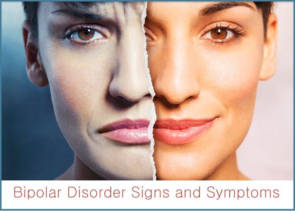 Bipolar Disorder Signs and Symptoms ~ Bipolar disorder is a brain disorder marked by bouts of extreme and impairing changes in mood, thinking, and behavior.   Bipolar disorder can be treated but not cured, it tends to be episodic in nature, but the goal of treatment is to manage the disease, decrease the severity of depressive and manic episodes and keep recurrences to a minimum.