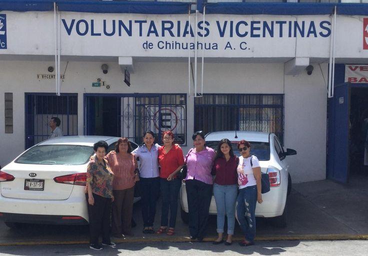 Entregan mujeres panistas donativo de medicamentos y ropa a asociación civil Voluntarias Vicentinas | El Puntero