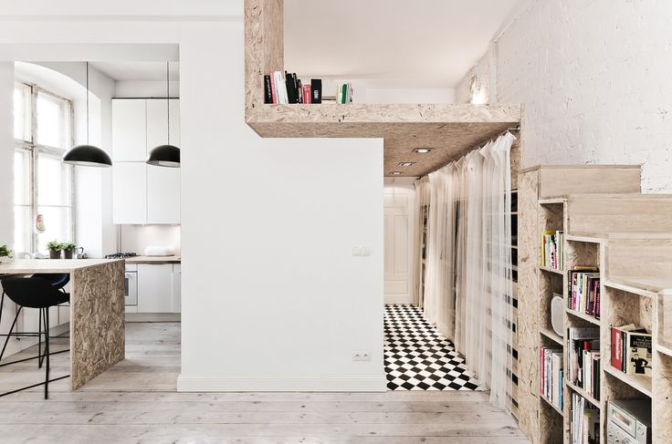 Built by 3XA in Wrocław, Poland with date 2012. Images by S.Zajaczkowski. 29 sqm is a rather small space to live in. Therefore the priority of this makeover was to maximize the space and to c...