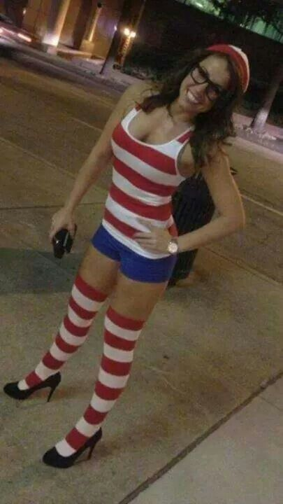 I didn't know waldo was hot!!! My search starts now, game  on Ms Waldo!!