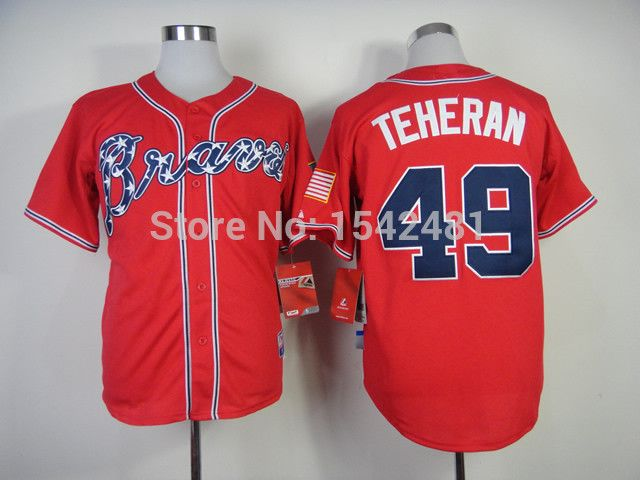 Checkout this new stunning item   New COolBase #49 atlanta braves julio teheran jersey,men's MLB baseball cheap authentic stitched throwback red shirt China - US $24.99 http://sportsellworld.com/products/new-coolbase-49-atlanta-braves-julio-teheran-jerseymens-mlb-baseball-cheap-authentic-stitched-throwback-red-shirt-china/