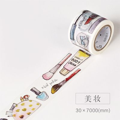 Aliexpress.com : Buy 3cm*7m Daily Life Zakka washi tape DIY decorative scrapbooking sticker planner masking adhesive tape label school supplies from Reliable supply shirt suppliers on Lifestyle Go Store