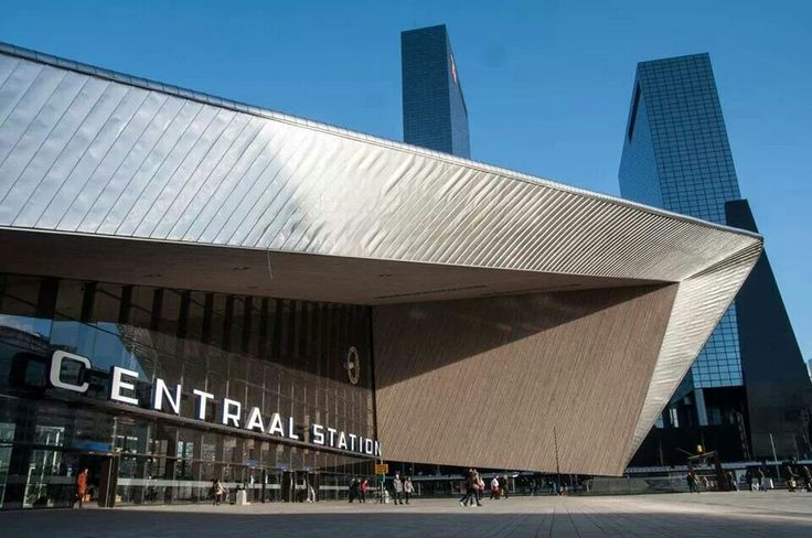 Central Station - Rotterdam #architecture #rotterdam