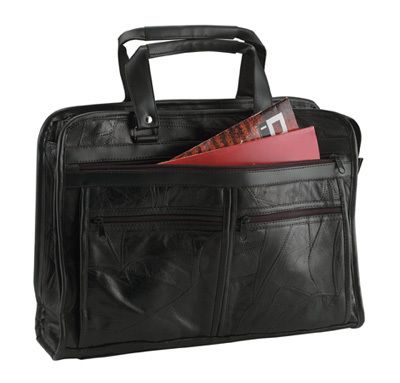 Maxam Brand Genuine Leather Briefcase