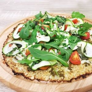 Cauliflower Pizza Base Recipe | Yummly